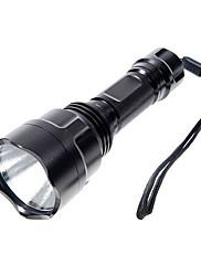LED懐中電灯 / 携帯式フラッシュライト LED 1000 ルーメン 5 モード Cree XP-E R2 18650 キャンプ/ハイキング/ケイビング アルミ合金