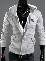 Pánské Směs bavlny Jednobarevné Activewear Sady Denní nošení/Pracovní/Sportovní Dlouhý rukáv