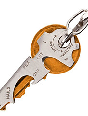 8-in-1 Multifunctional Stainless Steel Bottle Opener Keychain