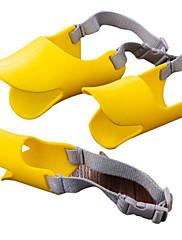 Vysoce kvalitní žluté psů muzzel 11cm / 4.3 palce