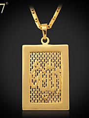 Ogrlica s privjeskom Vintage/Slatko/Zabava/Posao/Ležerne prilike ( Legure/Pozlata od platine/Pozlaćeni nakit )