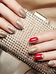 1ks DIY stereoskopické 3D diamantové nehty samolepky