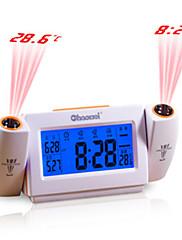 chaowei® izvorni dovelo mute višenamjenski elektronički alarm s kalendarom projektorom