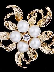 slitiny perla šátek klip brož látkové doplňky pro ženy párty