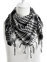 Unisex Vintage / Na běžné nošení Směs bavlny / Úplet Šátek