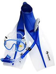 Silikon-Modrá-Šnorchlování balíčky