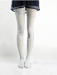 Ponožky a punčochy Sweet Lolita Lolita Lolita Růžová / Nebesky modrá Lolita Příslušenství Punčocháče Zvířecí Pro Dámské Nylon