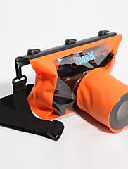 Suché Boxy Suché pytle Pouzdro na fotoaparát Voděodolný Potápění a šnorchlování. PVC Černá