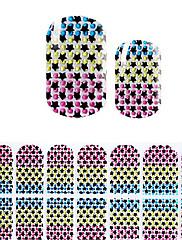 Lijep Koreja DIY dijamant naljepnice 3d noktiju