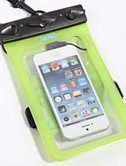 Suché pytle Suché Boxy Voděodolný Mobilní telefon Potápění a šnorchlování. PVC Černá