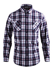JamesEarl 男性 シャツカラー ロング シャツ&ブラウス シルバー - DA112009501