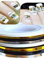 1pcs 3mm 20m noktiju alati art pruga vrpca linija naljepnica nail art ljepota ukras nc124 slučajni isporuke