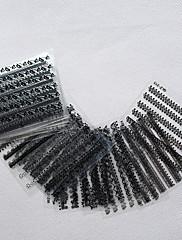 Moda crno / bijele čipke nail art naljepnica naljepnica DIY manikura šminkanje 30pcs / set