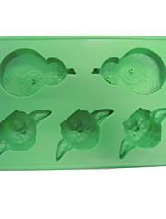 Yoda led plijesni silikon posudu za led plijesni čokolade plijesni