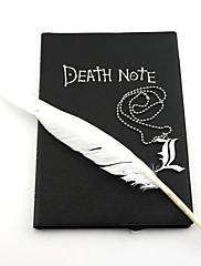 ジュエリー に触発さ Death Note コスプレ アニメ系 コスプレアクセサリー ネックレス ブラック 合金 男性用 / 女性用