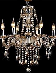 Lustry ,  moderní - současný design Tradiční klasika Retro Galvanicky potažený vlastnost for Křišťál SkloObývací pokoj Ložnice Jídelna
