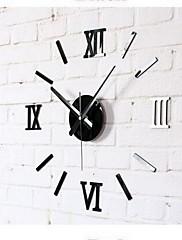 Módní a moderní Ostatní Nástěnné hodiny,Kulatý Akryl Vevnitř Hodiny