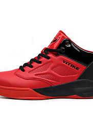Atletické boty-mikrovlákno-Pohodlné-Chlapecké-Modrá Červená-Outdoor Běžné Atletika-Plochá podrážka