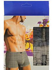 Muži ProužkyMuži Bavlna / Bambusovo karbonové vlákno