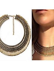 Dámské Obojkové náhrdelníky Náhrdelníky s přívěšky Prohlášení Náhrdelníky Slitina KapkaBohemia Style Přizpůsobeno Prohlášení o šperky