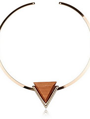 Dámské Obojkové náhrdelníky Náhrdelníky s přívěšky Prohlášení Náhrdelníky Slitina Bohemia Style Přizpůsobeno Prohlášení o šperky Zlatá