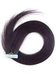 Páska / pu / kůže prodlužování vlasů brazilské vlasy s cutile 2,5 g na vláknu