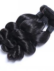 Lidské vlasy Vazby Malajské vlasy Volné vlny 6 měsíců 3 kusy Vazby na vlasy