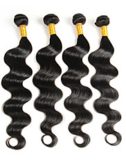 Lidské vlasy Vazby Indické vlasy Vlnité Jeden díl Vazby na vlasy