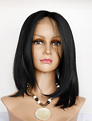 8-12inch Human Hair Straiht Lace Front Wigs For Women