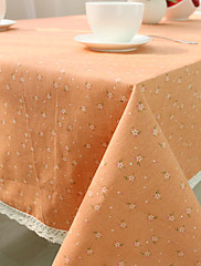 方形 トワル テーブルクロス , コットンブレンド 材料 ホテルのダイニングテーブル 表Dceoration