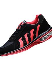 Atletické boty-Tyl PU-Pohodlné-Pánské-Modrá Červená Bílá-Běžné Atletika-Plochá podrážka