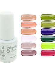 Lak na nehty UV gel 5 1 UV barevný gel Namočte off Dlouhotrvající