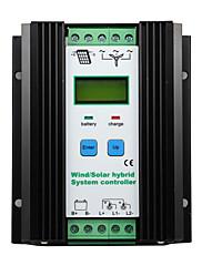 1000W DC 24V vjetar solarni hibridni regulator punjenja 50a s kontrolnim ys2460 lcd PWM