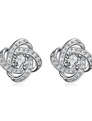 Žene Sitne naušnice Kubični ZirconiaOsnovni dizajn Jedinstven dizajn Stil tetovaže Geometrijski Krug Prijateljstvo luksuzni nakit
