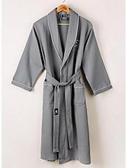Robe de BanhoSólido Alta qualidade 100% Algodão Toalha