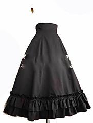 Falda Gosurori Princesa Cosplay Vestido  de Lolita Moda Hasta la Tibia Falda por
