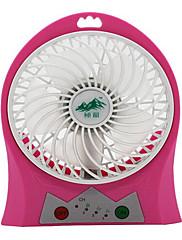 Air Cooling Fan Stille og dæmp Regulering af vindhastighed USB Universal Standard Håndholdt design LED Cool og forfriskende Let og bekvemt
