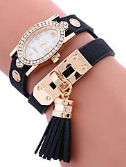 Dámské Ženské Sportovní hodinky Módní hodinky Náramkové hodinky Unikátní Creative hodinky Hodinky na běžné nošení Křemenný PU Kapela
