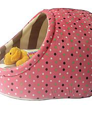 犬 ベッド ペット用 マット/パッド 水玉柄 ウォーム