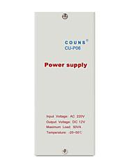 Cu-p06a poder de controle de acesso 12v / 5a controle de acesso controle de energia fonte de alimentação dedicada