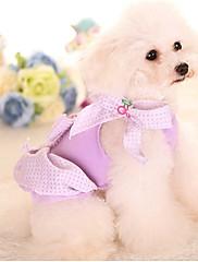 犬 ドレス 犬用ウェア カジュアル/普段着 プリンセス パープル レッド ブルー