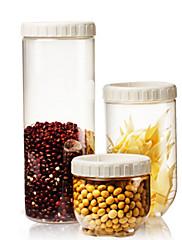 3 キッチン プラスチック 食品の保管
