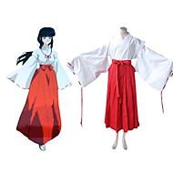 inuyasha kikyo traje de cosplay