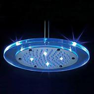 Современный Дождевая лейка Хром Особенность for  Светодиодная лампа / Дождевая лейка , Душевая головка
