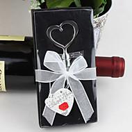 ouvre-bouteille en forme de coeur