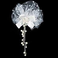 Copricapo Donne Copricapo Matrimonio/Occasioni speciali Tulle/Perle false Matrimonio/Occasioni speciali