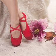 haute qualité des chaussures de toile de danse supérieure chausson de ballet de couleurs adultes et enfants de plus