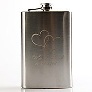 Gift Groomsman Personalized Metal 9-oz Flask - Telesthesia