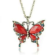 Red Butterflu Sweater Chain