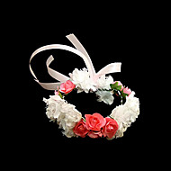 "Wedding Flowers Round Wrist Corsages Wedding Party/ Evening Paper Multi-color 4.72""(Approx.12cm)"